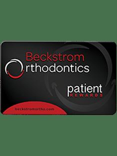 Rewards Card Beckstrom Orthodontics Vandalia Troy OH