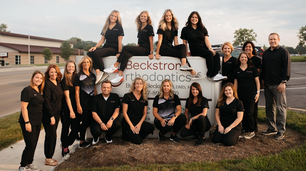 Meet the team at Beckstrom Orthodontics in Vandalia and Troy OH